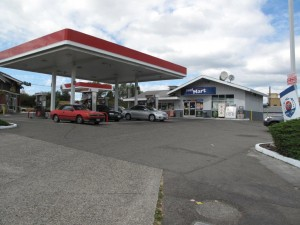picture of a service station in tacoma, wa securing a $600,000 bridge loan from mortgage equities.