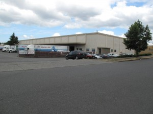Image of moving and storage warehouse in Tacoma, Washington securing a $1.9 million bridge loan.