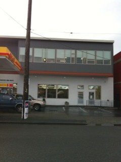Image of gas station / day care center in Seattle built with construction loan from Mortgage Equities