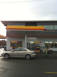 Image of gas station in Seattle built with a construction loan from hard money lender, Mortgage Equities
